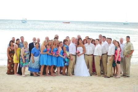 Destination Wedding At Sandals Negril